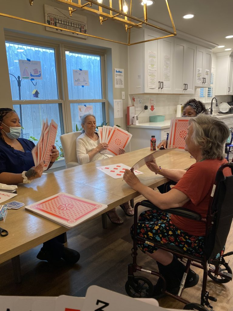 Daily activities for our assisted living residents